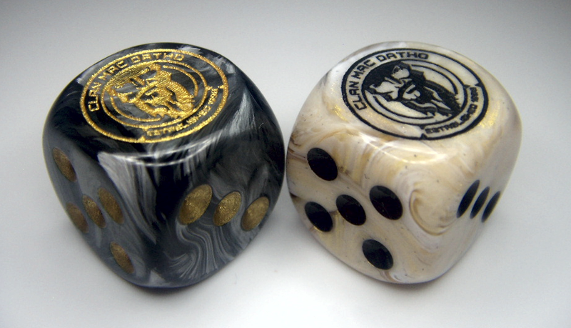 Clan Mac Datho Chessex Custom Dice